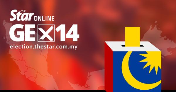 14th General Election Malaysia Ge14 Pru14 Negri Sembilan